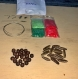 Kit bijoux en graines naturelles n°10 : 1 parure