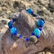 Bracelet en graines naturelles : perles du zanzibar