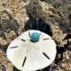 Collier en pierres semi-précieuses : larimar
