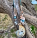 Collier en coquillages : nautile et lambi