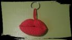 Porte clés / bouche / crochet