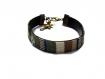 Bracelet  ruban plat ethnique