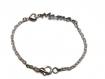 Bracelet argenté pour maman