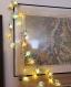 Guirlande étoiles en papier 20 led