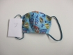 Masque tissu etsy, pour enfants à partir de 4 ans, 2 épaisseurs, lavable, réutilisable, différentes tailles selon l'âge