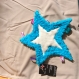 Doudou étoile coton bio