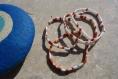 Bracelet miyuki tila blanc terra cotta beige calypso