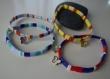 Bracelet enfant miyuki tila et breloque papillon émaillée