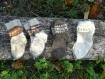 Chaussettes tricotées à la main 100% laine naturelle enfant 0 à 6 mois