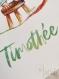 Joy of nature - collection mon p'tit chat - affiche a4 - prénom personnalisable