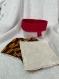 Lingettes démaquillantes lavables en fibre de bambou x3 avec la panière de rangement
