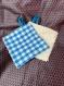 Lingettes démaquillantes lavables en fibre de bambou x2pcs