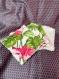 Lingettes démaquillantes lavables en fibre de bambou x4pcs