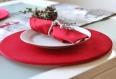 Dessous de plat - rouge velours