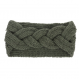 Bandeaux femme ou ados en laine acrylique - torsade centrale -
