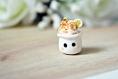 Charm frozen yoghurt coulis caramel et banane