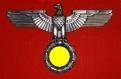 Aigle allemand  ( 38 x 25 cm )