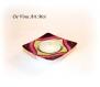 Bougeoir porte bougie coloré,fait main,petit bougeoir porcelaine,décorée à la main,artisanal