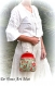 Sac pochette minaudière bohème,sac femme fermoir métal,fait main,petit sac velours broderie artisanal