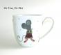 Gros mug tasse porcelaine,tasse cadeau homme papa,fait main,tasse 50cl artisanale original