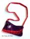 Sac besace velours femme,petit sac tissus bandoulière,fait main artisanal