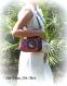 Sac bohème coloré femme,sac tissus fermoir métallique,réalisé à la main,sac chaine bandoulière