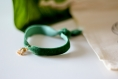 Bracelet ajustable à personnaliser en velour