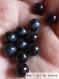 Perle - Œil de faucon - 40 perles 6mm