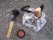 Kit de couture sac - pochon prêt à coudre diy maquillage femme fête des mères cadeau noel anniversaire- coton lavable, nécessaire coiffure