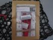 Kit de couture sac - pochon maquillage prêt à coudre diy femme fête des mères cadeau noel anniversaire- coton lavable, nécessaire coiffure