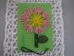 Kit couture enfant - carton à broder avec aiguille plastique et fils laine assortis- cadeau anniversaire noel - activité manuelle jeu jouet