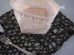 Pack naissance : 5 cotons lavables bambou + pochon de stockage et transport + un bavoir bandana, bébé, naissance, enfant - cadeau à offrir