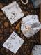Pack naissance : 5 cotons lavables bambou + pochon de stockage et transport - bébé  naissance anniversaire noel enfant - cadeau à offrir