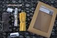 Kit de couture 6 cotons lingettes prêt à coudre diy carré lavable bébé enfant naissance- cadeau noel, anniv-coton réutilisable