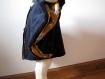 Poncho, cape, manteau bébé enfant en doudou doublé, avec capuche tête d'animal - cadeau naissance anniversaire noel pré natal