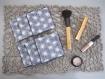 Kit de couture 6 cotons lingettes carré lavable prêt à coudre diy femme fête des mères soin- cadeau noel, anniv-coton réutilisable