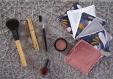 Kit de couture 6 cotons lingettes carré lavable prêt à coudre diyfemme fête des mères soin- cadeau noel, anniv-coton réutilisable
