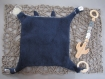 Kit de couture doudou plat prêt à coudre diy lange à nouer avec ses oreilles bébé - dentition tétine - cadeau noel, naissance, maman