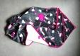 Couverture capuche - cape - cadeau naissance - pour envelopper votre enfant bien au chaud