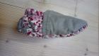 Chaussons + nœud papillon - chaussettes coton souples motricité semelle cuir anti-dérapant pour bébé enfant, nœud papillon, naissance