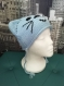 Bonnet tricoté layette taille 3 mois ( rose ou bleu)