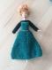 Robe princesse crochetée pour barbie