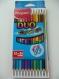 Trousse à crayons de couleur duo