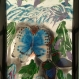 Tableau décoration murale chambre d'enfants peinture 3 d, tableau artisanal exotique