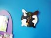 Horloge déco murale vache