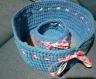 Corbeilles et vide poche assorti - tons bleus -