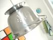 Lampe passoire déco cuisine design et tendance inox brossé