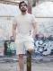 T-shirt blanc wan