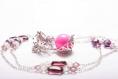 Bola de grossesse perle rose
