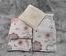 Lot de 7 lingettes nettoyantes ou démaquillantes fait main en coton et éponge fait main avec soins